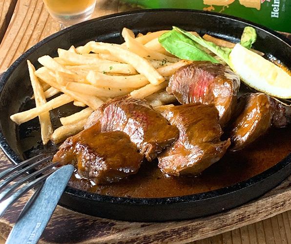 ビーフステーキ オリジナルグレイビーソース